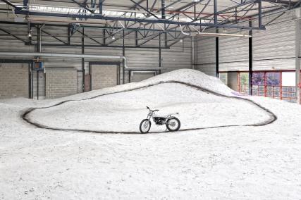 """""""Le silence d'une dune"""" by Stéphane Thidet @ Biennale de Lyon 2019"""