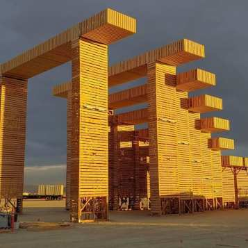 Temple of Direction by Geordie van der Bosch