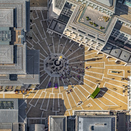 """Aerial Views: London"" by Bernhard Lang"