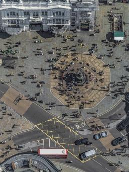 """Aerial Views: London"" by Bernhard Lang"