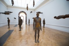 Antony Gormley, Lost Horizon I, 2008. Installation view, 'Antony Gormley', Royal Academy of Arts, London, 21 September to 3rd December 2019. PinchukArtCentre, Kiev, Ukraine.