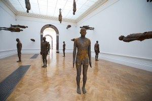 Antony Gormley, Lost Horizon I, 2008. Installation view, 'Antony Gormley', Royal Academy of Arts, London, 21 September to 3rd December 2019. PinchukArtCentre, Kiev, Ukraine.