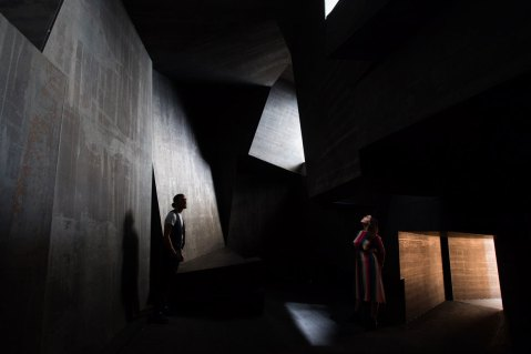 Antony Gormley, Cave, 2019. Installation view, 'Antony Gormley', Royal Academy of Arts, London, 21st September to 3rd December 2019.