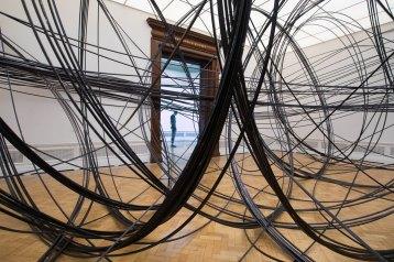 Antony Gormley, Clearing VII, 2019. Installation view, 'Antony Gormley', Royal Academy of Arts, London, 21st September to 3rd December 2019.