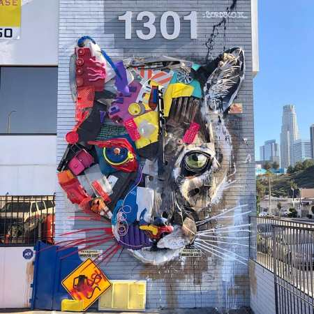 Bordalo II @ Los Angeles, USA