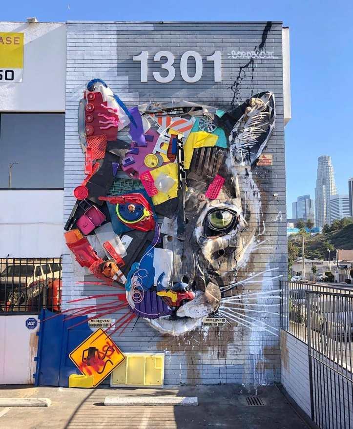 Bordalo II @ Los Angeles, USA