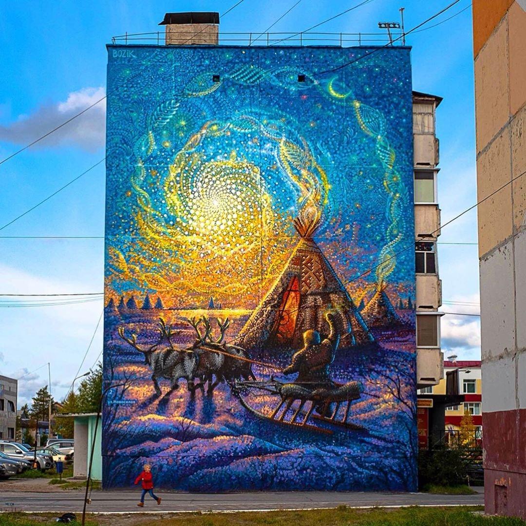 Bozik @ Muravlenko, Russia