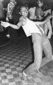 Diana Ross balla allo Studio 54, anni '70