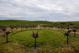 The Donum Estate - Ai Weiwei Circle of Animals / Zodiac Heads, 2011l. Courtesy of the Donum Estate
