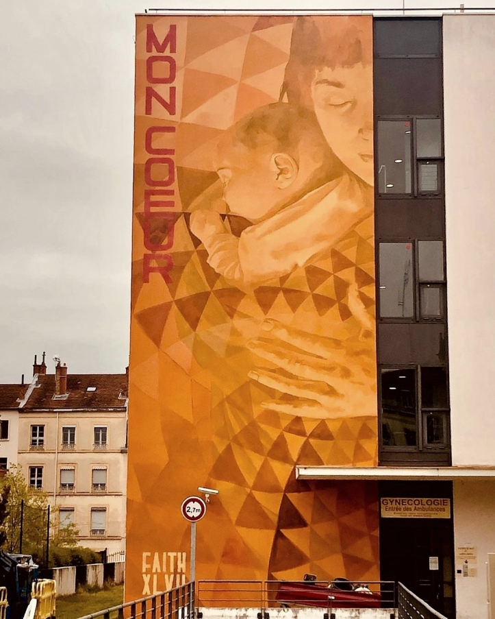 Faith47 @ Lyon, France