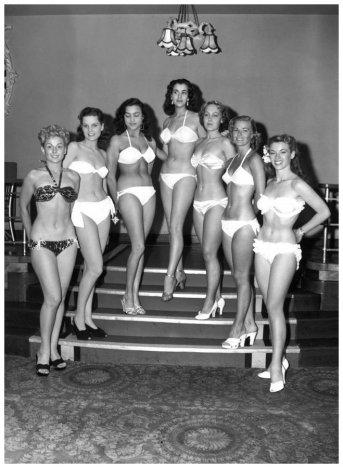 Finaliste di Miss Mondo 1951