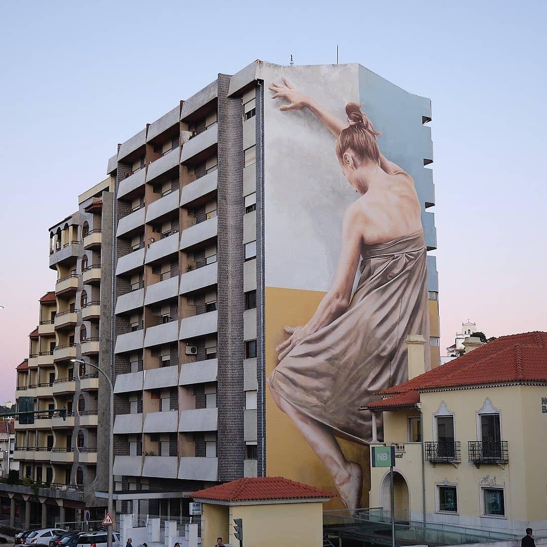 Guido Van Helten @ Leiria, Portugal