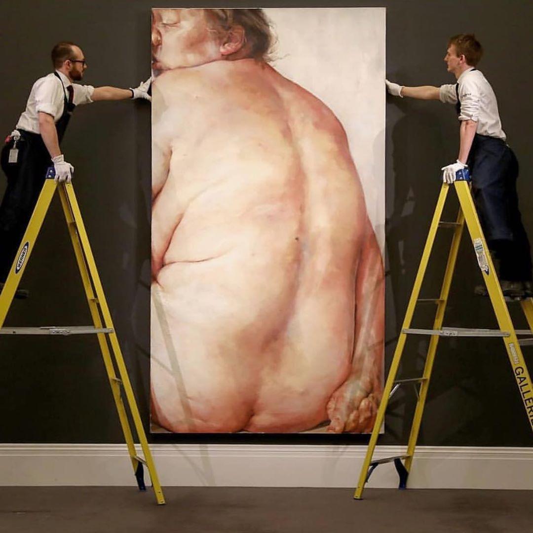 Jenny Saville art at Sotheby's