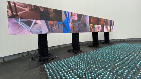 """Materialism"" by Studio Drift @ Eindhoven, Olanda"