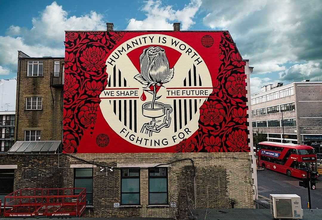 Obey Giant @ London, UK