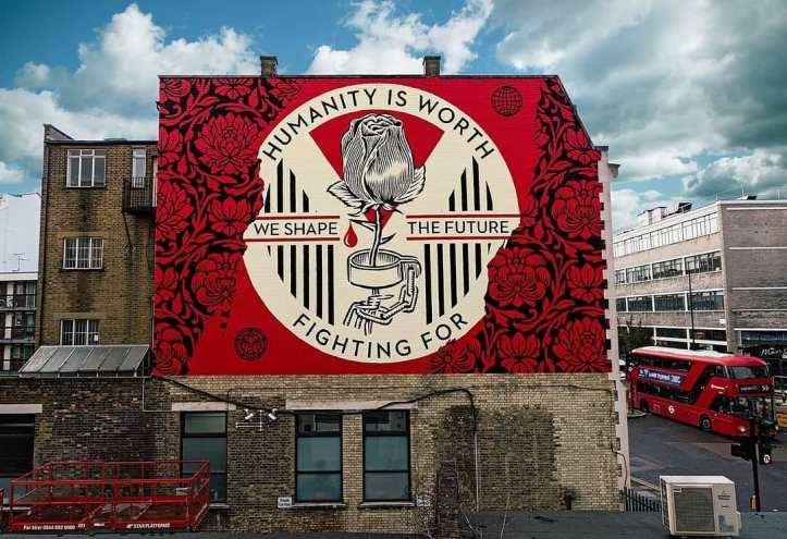 Obey Giant @ London, UK