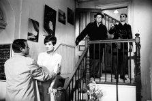 Richard Crenna, Aubrey Hepburn, Jack Weston e Alan Arkin in Wait Until Dark, 1967