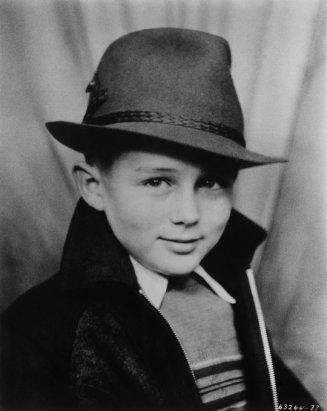 Ritratto di James Dean a Los Angeles. 1938