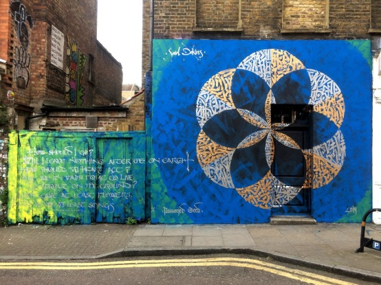 Said Dokins @saidokins, Poisoned Seed 1/1 -Ed 2, Three Flowers for London series. Address: 36-20 Hanbury St, Spitalfields, London E1 6QR UK