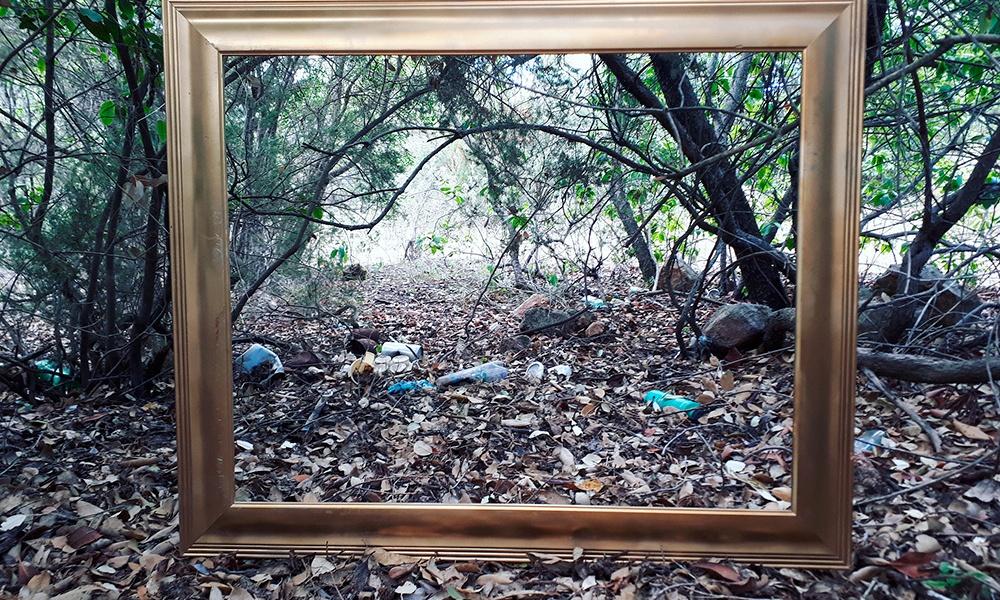 Trekking museale al sentiero dei rifiuti - Fotografia di Barbara Picci e Matteo Ambu
