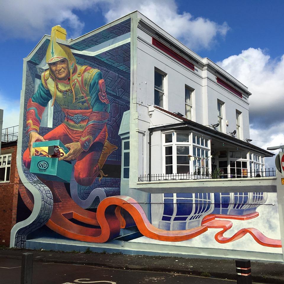 WD Drawing @ Cheltenham, UK