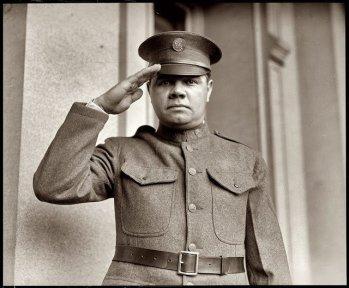 Babe Ruth nella Guardia Nazionale di New York, 1924
