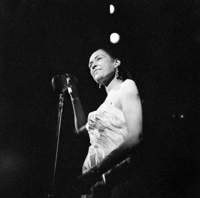 Billie Holiday al teatro Gerolamo © Archivio Greguoli Venini