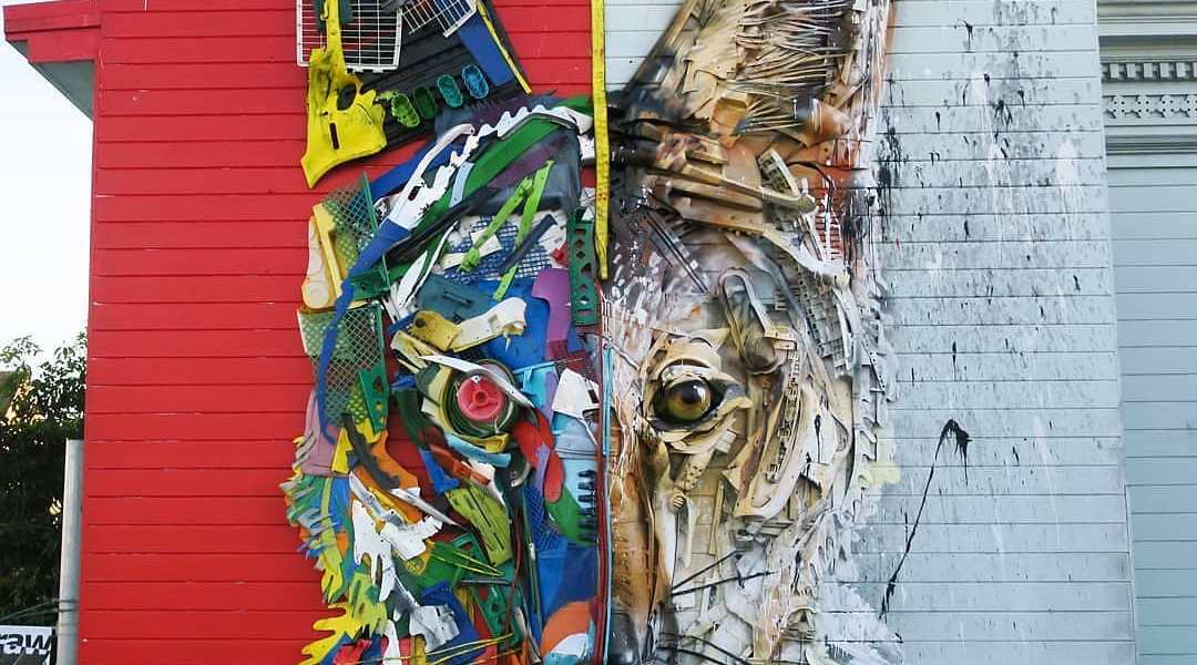 Bordalo II @ San Francisco, USA