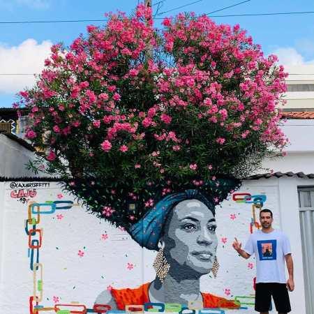Cajú Artsffiti @ Recife, Brazil
