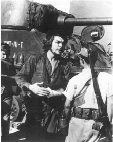 Che Guevara dopo la battaglia di Santa Clara, 1959