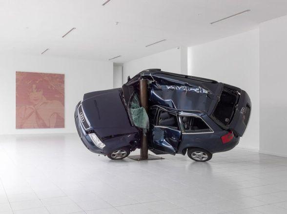 """""""Untitled (Crash 5)"""" (2008) by Dirk Skreber"""