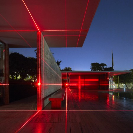 """Geometries of Light"" by Luftwerk, Iker Gil e Oriol Tarragó @ Padiglione tedesco"