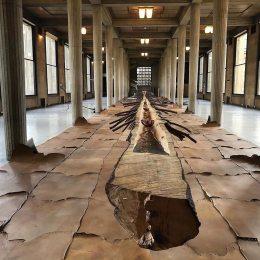 """Matrice di linfa (Matrix of Lymph)"" (2008) by Giuseppe Penone @ Palais d'Iéna, Paris, for FIAC 2019"