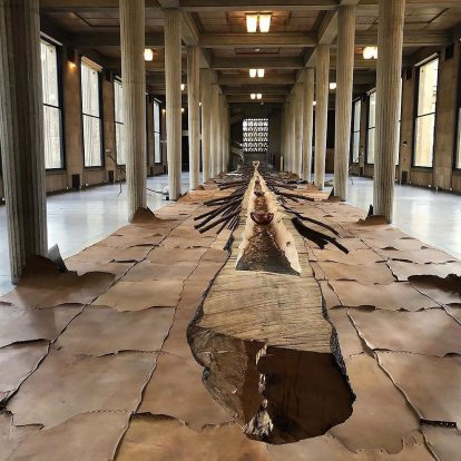 """Matrice di linfa (Matrix of Lymph)"" (2008) by Giuseppe Penone @ Palais d'Iéna, Paris, for FIAC 2019"