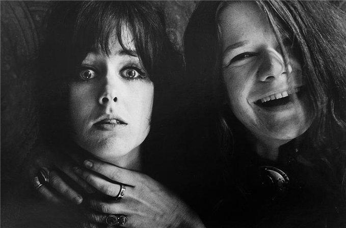 Janis Joplin e Grace Slick, 1967