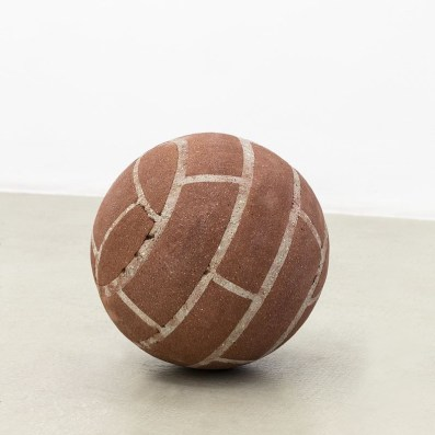 Ball in Remembrance of Annette Wehrmann, (2015) by Judith Hopf