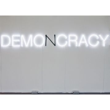 Demo(n)cracy (2009) by Kader Attia