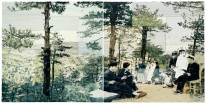 "My Homeland"" (2004), oil on canvas, 82-2/3 x 165-1/3 inches © Li Songsong"