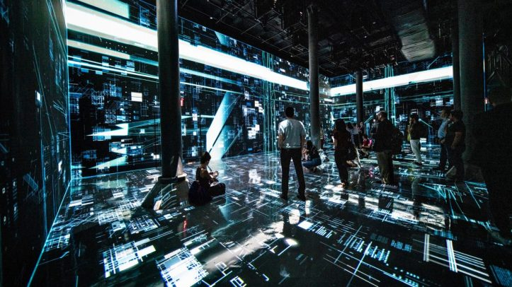 """Machine Hallucination"" by Refik Anadol @ New York"