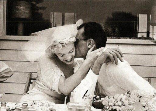 Marilyn Monroe & Arthur Miller, 1956