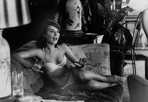 Natalie Wood a casa, 1963