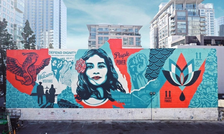 Obey Giant @ Los Angeles, USA