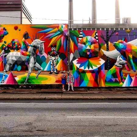 Okudart @ Boston, USA
