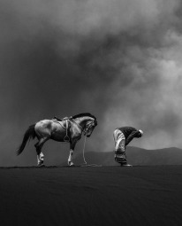 """Photography: """"Praying"""" by Rudy Oei @ Mount Bromo, East Java"""