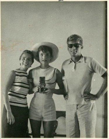 Selfie della Famiglia Kennedy, 1954