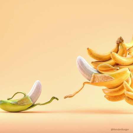 The creation of Banana by Farid Ghanbari