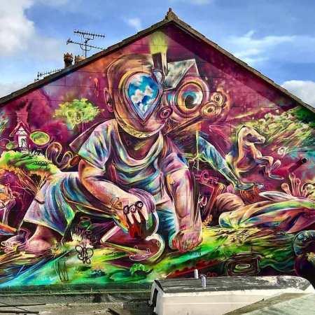 Tomillerart @ Bristol, UK