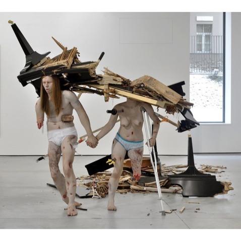 """""""Fucked Couple"""" (2005–2007) by Tony Matelli"""