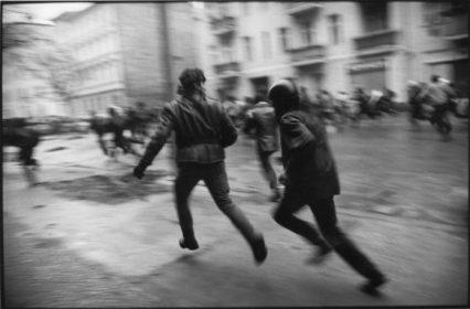 Berlin-Friedrichshain, Deutschland 13./14.11.1990