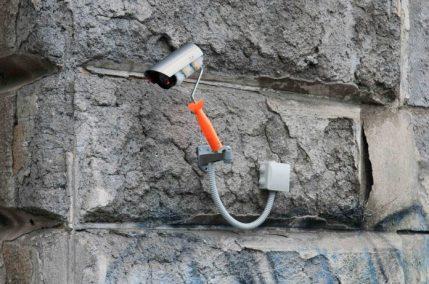 Biancoshock, GRAFFITI CCTV, Roma, 2018. Credits Carmelo Battaglia